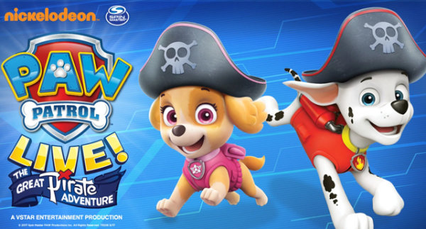 None - Win Paw Patrol Live Tickets