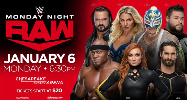 None - Win WWE Raw Tickets