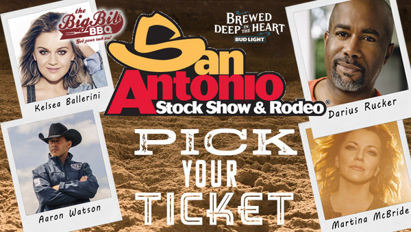 KJ97 Rodeo Pick Your Ticket courtesy of Bud Light
