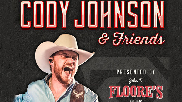 Cody Johnson + Friends September 15th Online Contest