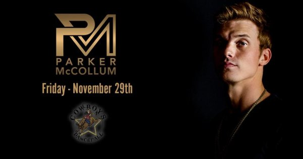 None - Win a Pair of Tickets to Parker McCollum!