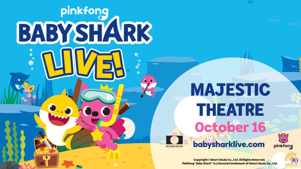 None - Win a Pair of Tickets to See Baby Shark Live!