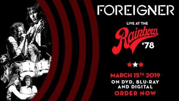None - FOREIGNER - LIVE AT THE RAINBOW '78 RESTORED AND REMASTERED