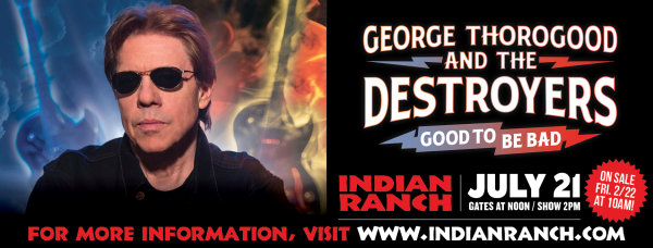 None - George Thorogood at Indian Ranch