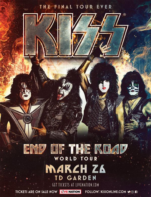 None -  Kiss at TD Garden