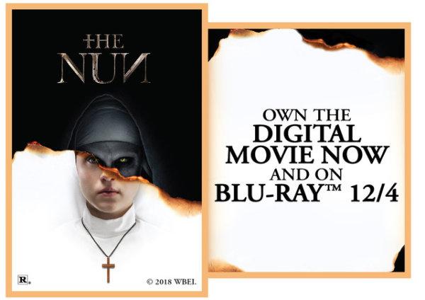 None - The Nun in Blu-Ray