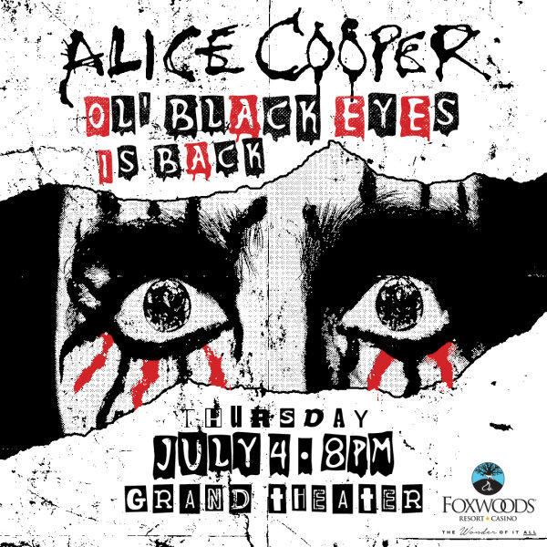 None - Alice Cooper at Foxwoods