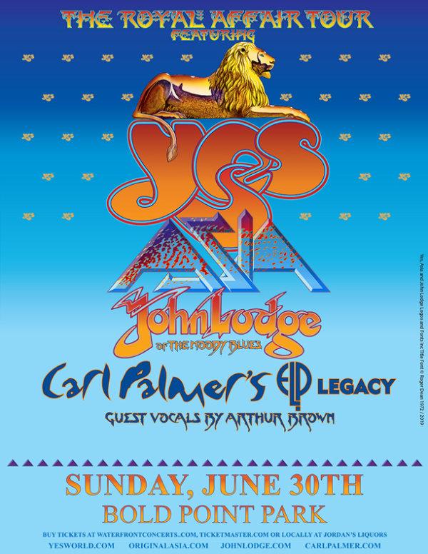 None - Yes, Asia, John Ledge & Carl Palmer