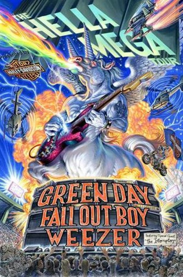 image for Hella Mega Tour with Green Day, Fallout Boy & Weezer!