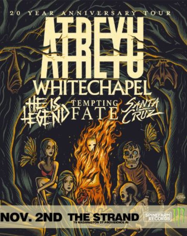None - The Metal Zone Welcomes: Atreyu at the Strand