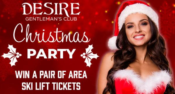 None - Ski Passes Courtesy of Club Desire's Christmas Party