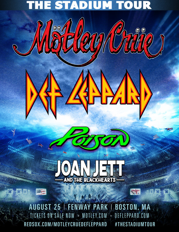 image for Motley Crue,  Def Leppard, Poison & Joan Jett and the Blackhearts