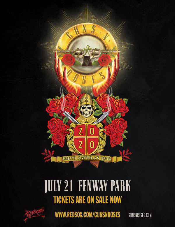 image for Guns & Roses at Fenway Park