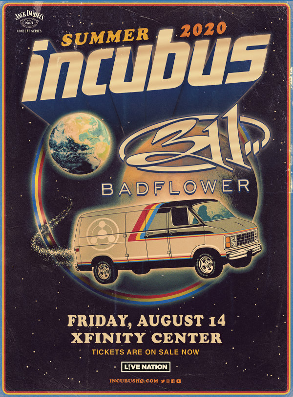 image for Incubus at the Xfinity Center