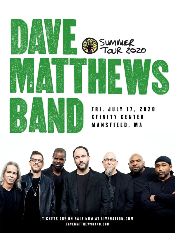 image for Dave Matthews at the Xfinity Center