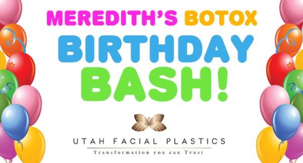 None - Win a Spot at Meredith's Botox Birthday Bash!