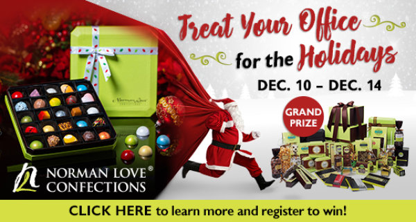 None -  Norman Love Confections Office Holiday Giveaway
