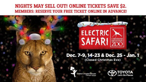 None - Win Tickets To Electric Safari