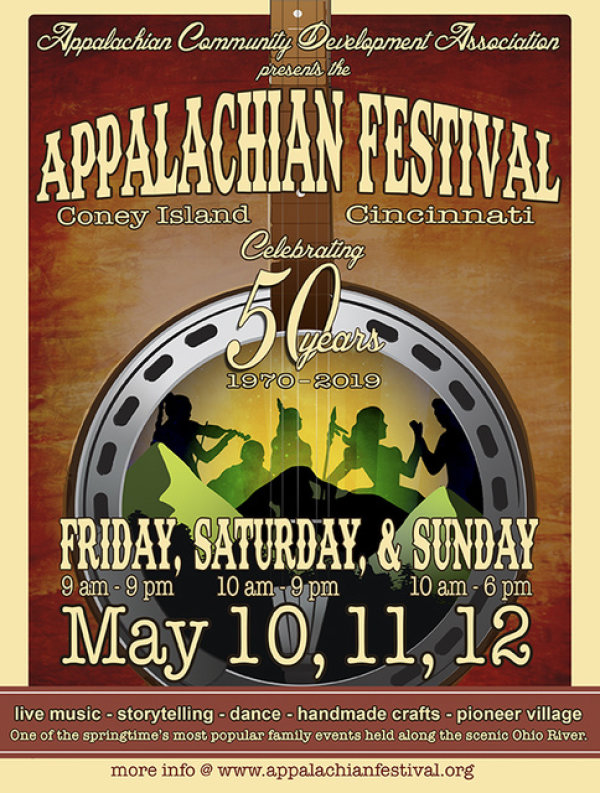 None - Win a pair of tickets and free parking for The 50th Annual Appalachian Festival!