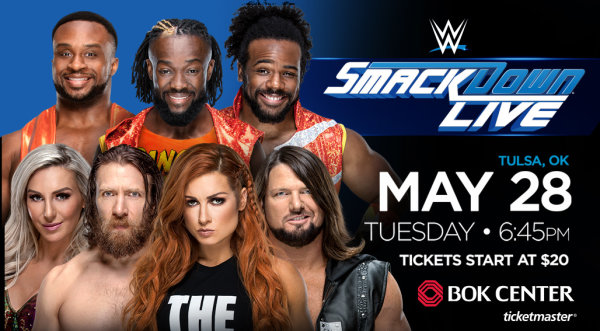 None - Enter To Win WWE Smackdown Live Tickets!