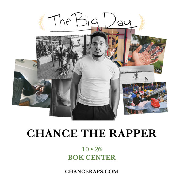 None - Enter To Win Tickets To See Chance The Rapper!