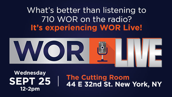 None - Join us for WOR Live!