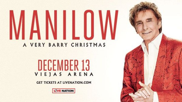 None -   Win tickets to Manilow: A Very Barry Christmas!