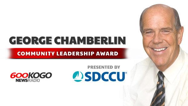 image for George Chamberlin Community Leadership Award