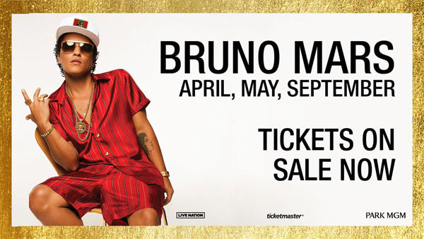None - Bruno Mars in Las Vegas (Hotel + Tickets + Gas Card)
