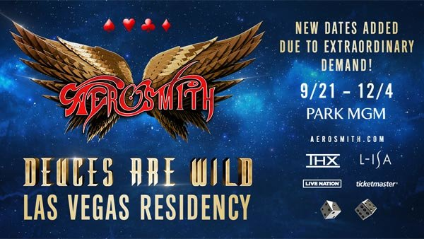 None -   Aerosmith Las Vegas Residency (Hotel + Tickets + Gas Card)