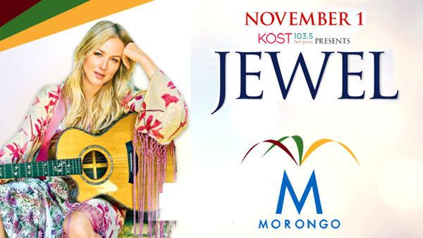 None -   KOST 103.5 presents Jewel at Morongo Casino Resort and Spa (11/1) (Pair)