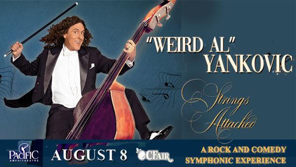 None - Weird Al Yankovic at Pacific Amphitheatre/OC Fair (8/8/19)