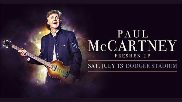 None - Paul McCartney at Dodger Stadium (7/13/19)