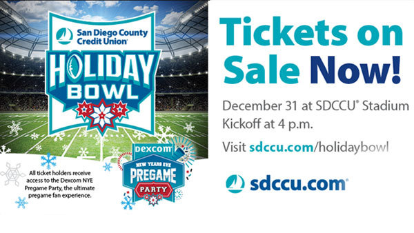None - Holiday Bowl at SDCCU Stadium in San Diego (12/31) (Pair)