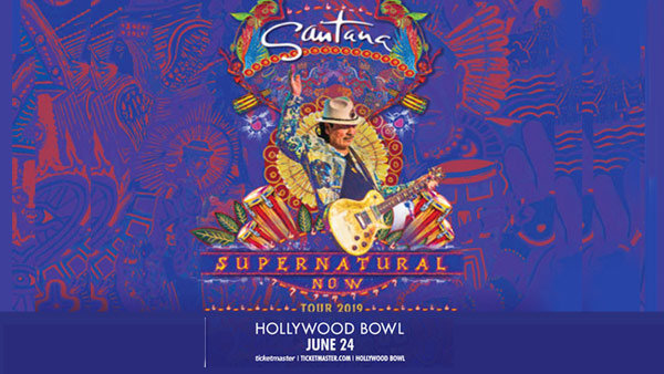 None - Win BOX SEATS to see Santana with The Doobie Brothers at Hollywood Bowl (6/24)