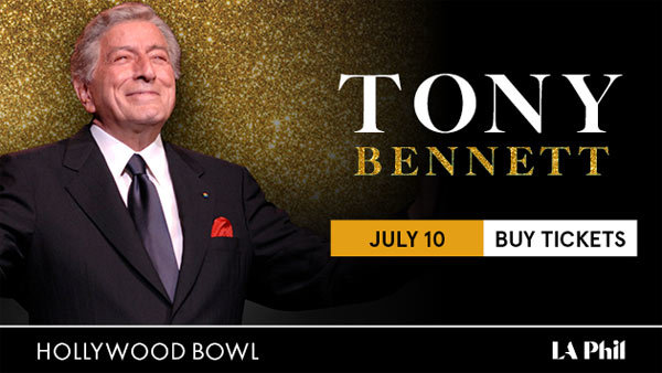 None - Win BOX SEATS to see Tony Bennett at the Hollywood Bowl (7/10) (Pair)