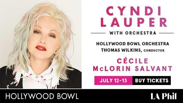 None - Win BOX SEATS to see Cyndi Lauper at the Hollywood Bowl (7/12) (Pair)