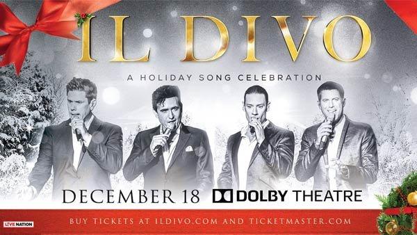 None - Il Divo at Dolby Theatre (12/18)