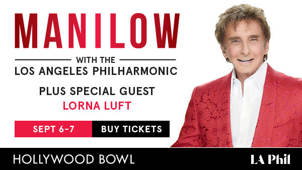 None - Win BOX SEATS to see Barry Manilow at the Hollywood Bowl + Dinner (for 4) (9/6)