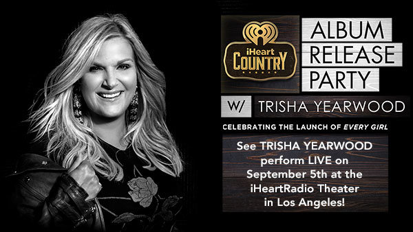None - iHeartCountry Album Release Party with Trisha Yearwood at The iHeartRadio Theater (9/5) (PAIR)