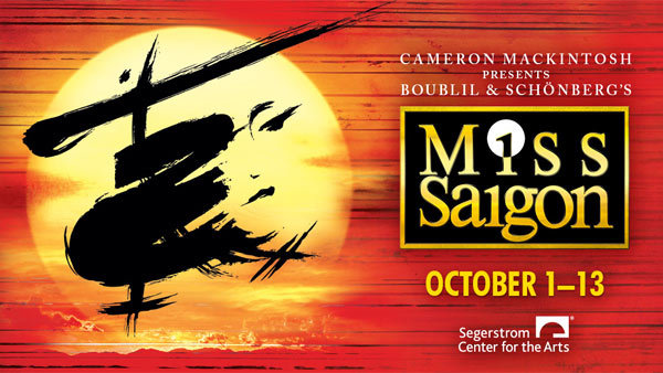 None - MISS SAIGON at Segerstrom Center for the Arts (10/1) (Pair)