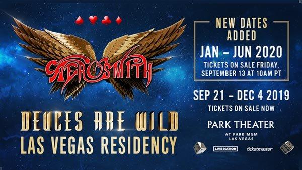 None - Aerosmith Las Vegas Residency (Hotel + Tickets + Gas Card)