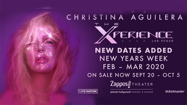 None - Christina Aguilera: The Xperience Las Vegas The Residency