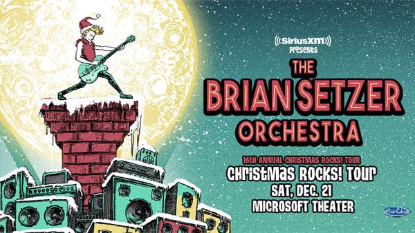 None - Brian Setzer Orchestra at Microsoft Theater (12/21)