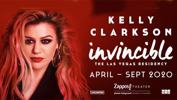 None - Kelly Clarkson: Invincible Las Vegas Residency (4/10/20-4/12/20)
