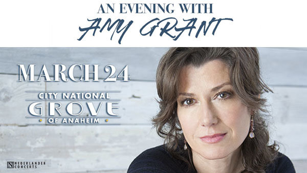 None - Amy Grant at City National Grove of Anaheim (3/24)