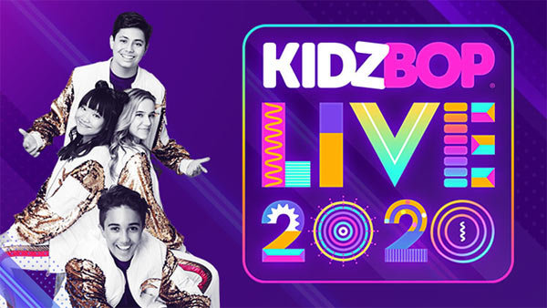 None - Kidz Bop Live 2020 World Tour at FivePoint Amphitheatre (8/29) (4-pack)