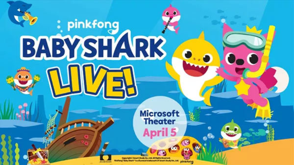 None - Baby Shark Live! at Microsoft Theater (4/5) (4-pack)