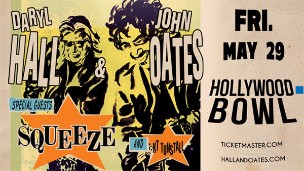 None - Enter to win BOX SEATS to see Daryl Hall & John Oates at Hollywood Bowl (5/29) (4-pack)