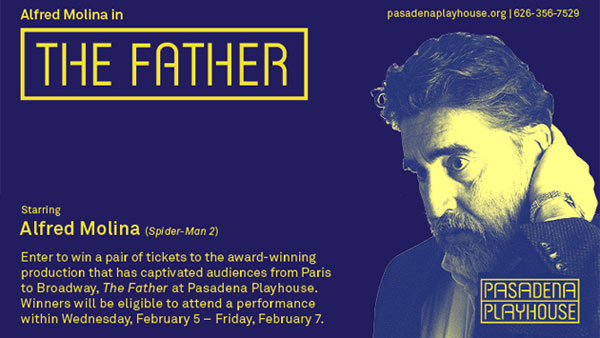 None - THE FATHER at the Pasadena Playhouse (Pair)